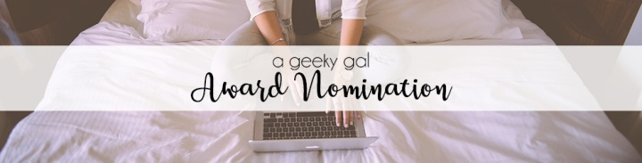 Sunshine Blogger Award + Geeky Nominations