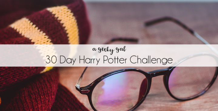 30 Day Harry Potter Challenge: the Complete List